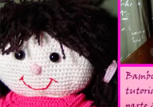 Bambola all uncinetto parte 2